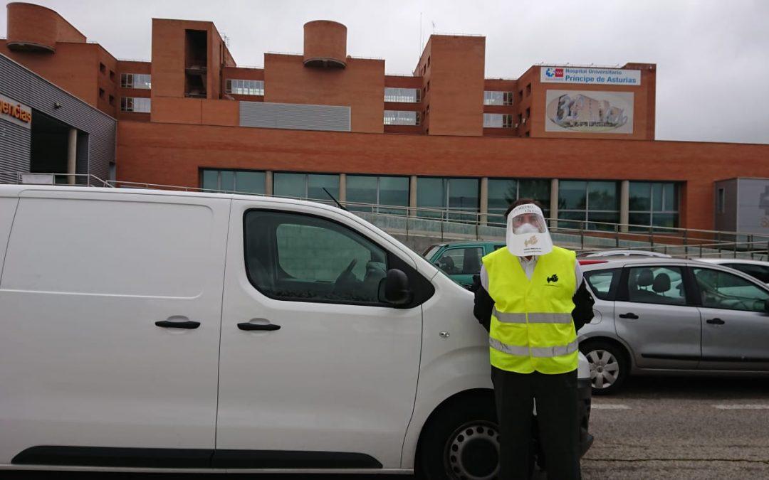 Hispano Embalaje dona 10.000 euros en material sanitario al Hospital Príncipe de Asturias
