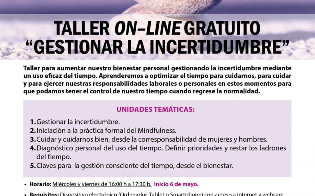 El Ayuntamiento organiza un Taller gratuito de gestión del tiempo para fomentar la corresponsabilidad