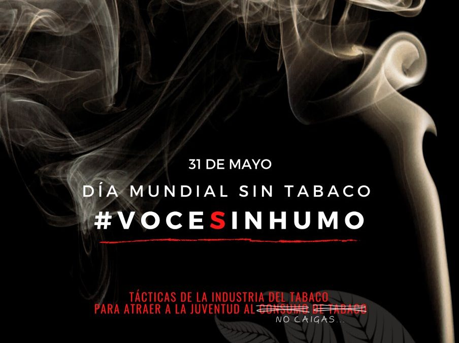 Alcalá se suma al Día Mundial Sin Tabaco con la campaña #VOCESINHUMO