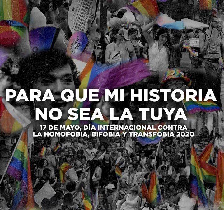 Alcalá de Henares se suma al Día Internacional contra la Discriminación por Orientación Sexual e Identidad de Género