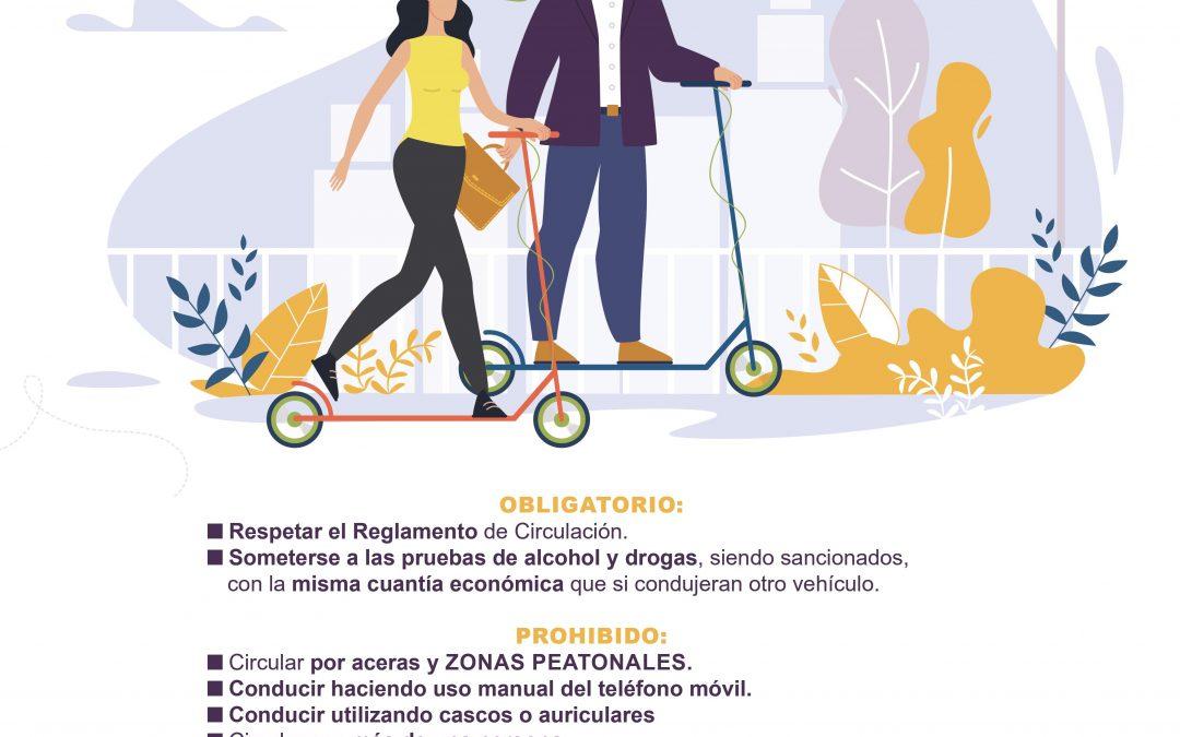 Desde hoy, los vehículos de movilidad personal podrán circular por Alcalá de Henares