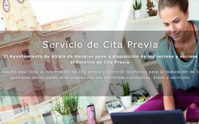 El Ayuntamiento pone en marcha el servicio de Cita Previa extendido para gestiones municipales