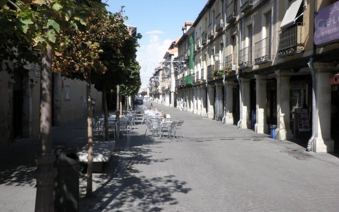 El Ayuntamiento de Alcalá aprueba los criterios excepcionales para la instalación de veladores y pérgolas