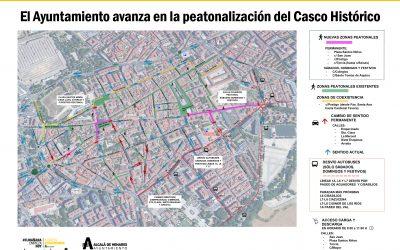 El Ayuntamiento peatonaliza la Plaza de los Santos Niños y las calles San Juan, Tercia y Postigo