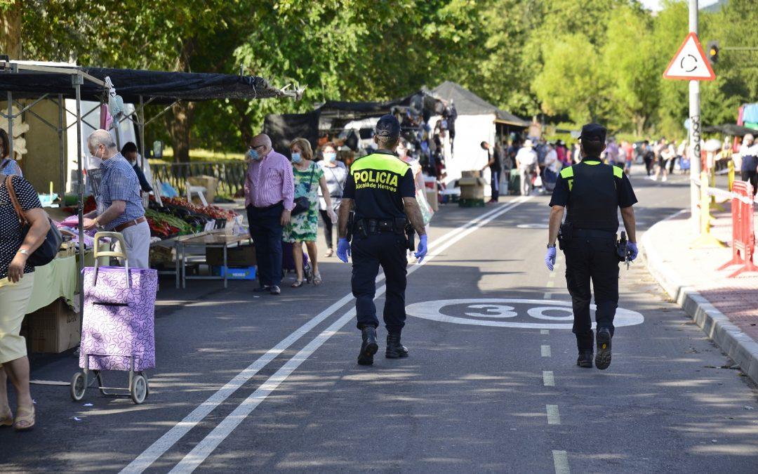Reabren los mercadillos de Alcalá de Henares con medidas de seguridad y distanciamiento