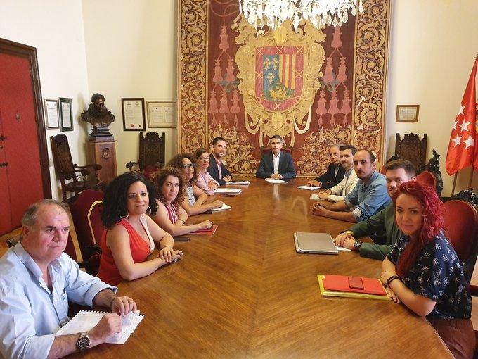 La Junta de Gobierno Local aprueba nuevas obras en los barrios de Alcalá, que generarán 191 empleos