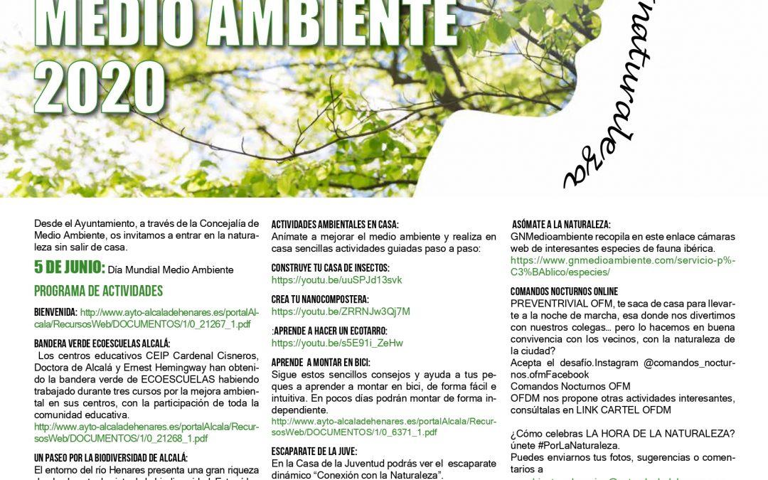 El Ayuntamiento celebra el Día Mundial del Medio Ambiente invitando a la ciudadanía a entrar en la naturaleza sin salir de casa
