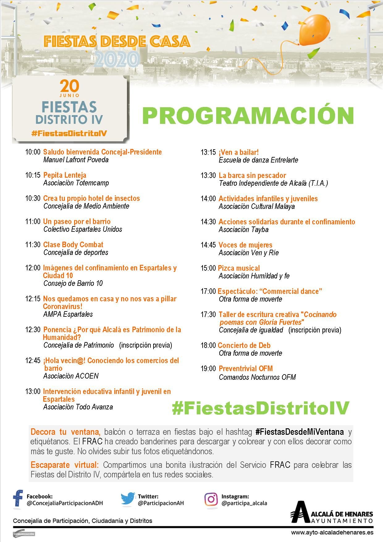 Programacion Fiesta D IV