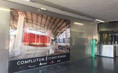 Turismo pone en marcha una nueva campaña para promocionar la Ciudad Romana de Complutum