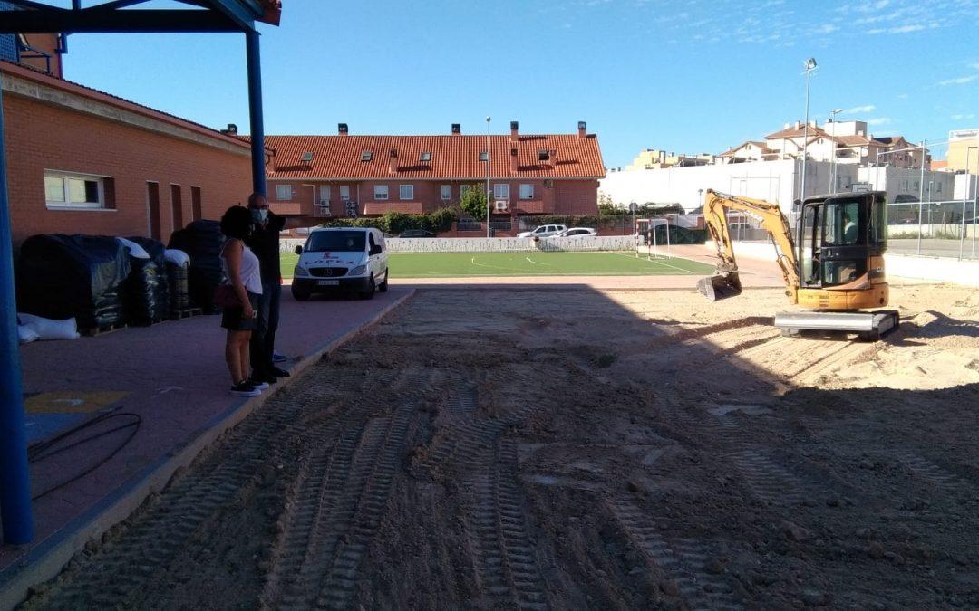 El Ayuntamiento invierte más de 500.000 € en el mantenimiento de los colegios públicos de Alcalá
