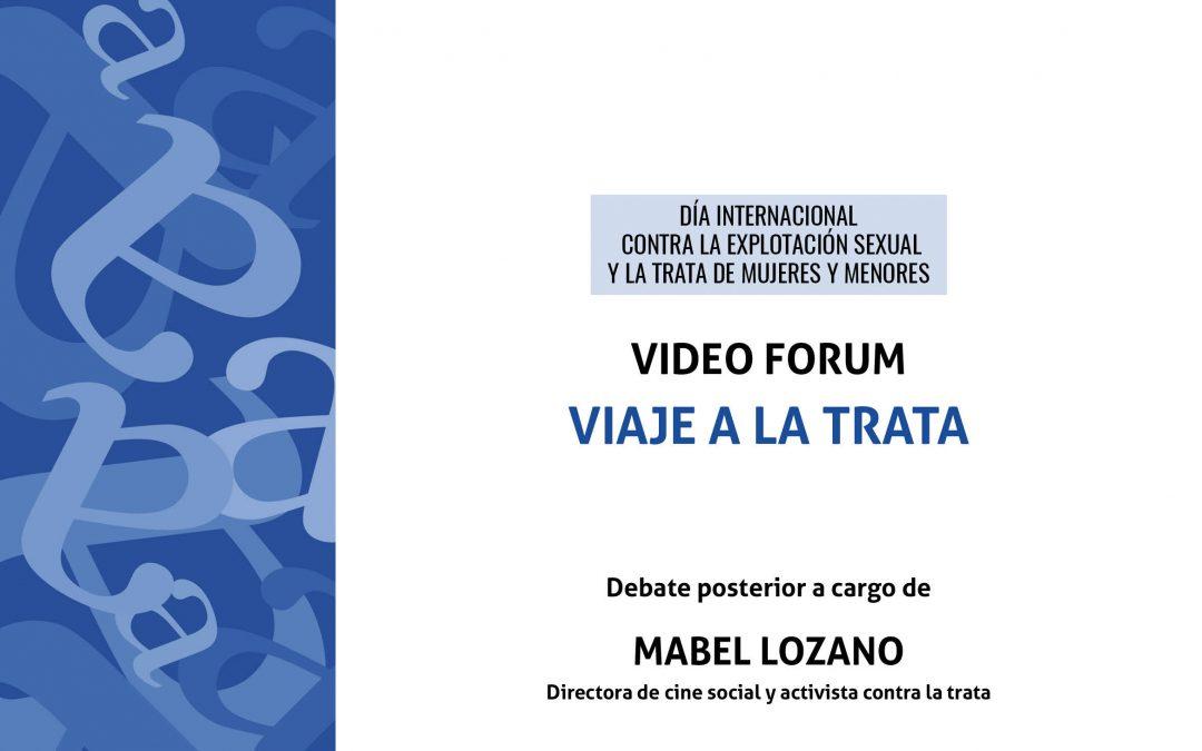 La cineasta y activista Mabel Lozano, hoy en Aula Abierta