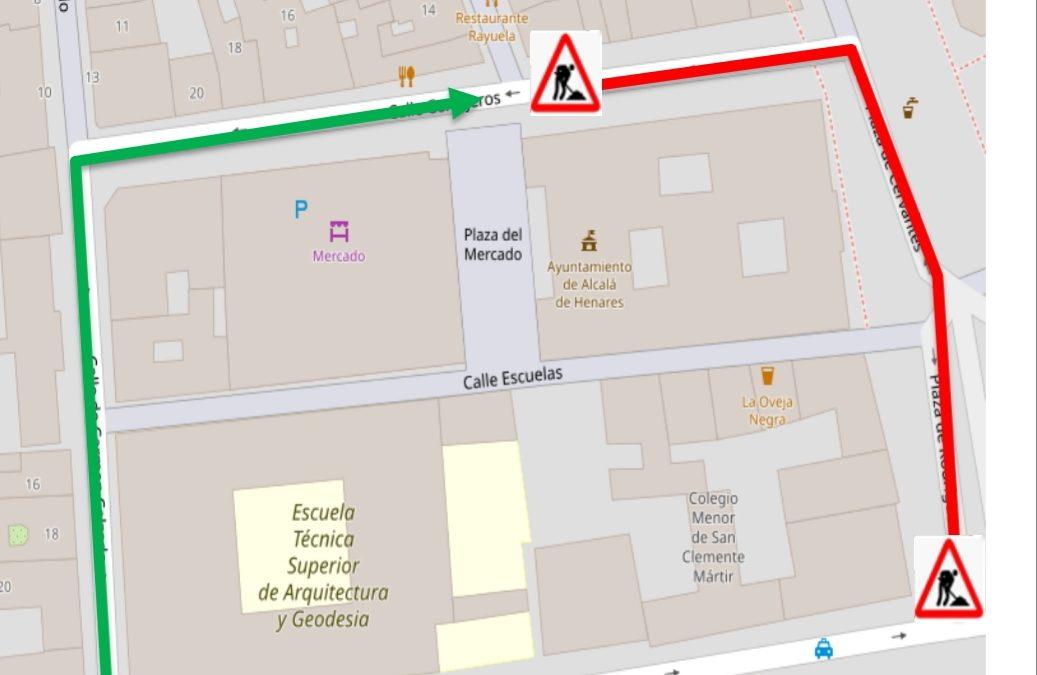 Cortes de tráfico con motivo de los trabajos previstos en Plaza Rodríguez Marín y otros puntos de la ciudad durante la semana del 28 septiembre al 4 de octubre