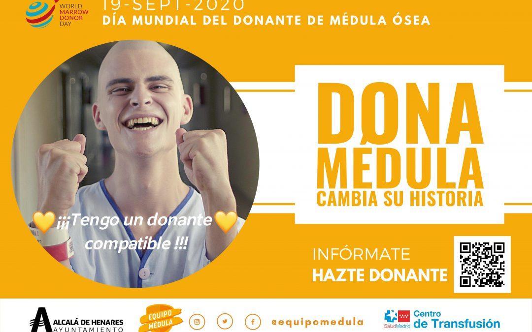 """El Ayuntamiento se suma a la campaña """"Cambia su Historia"""" con motivo del Día Mundial del Donante de Médula Ósea"""