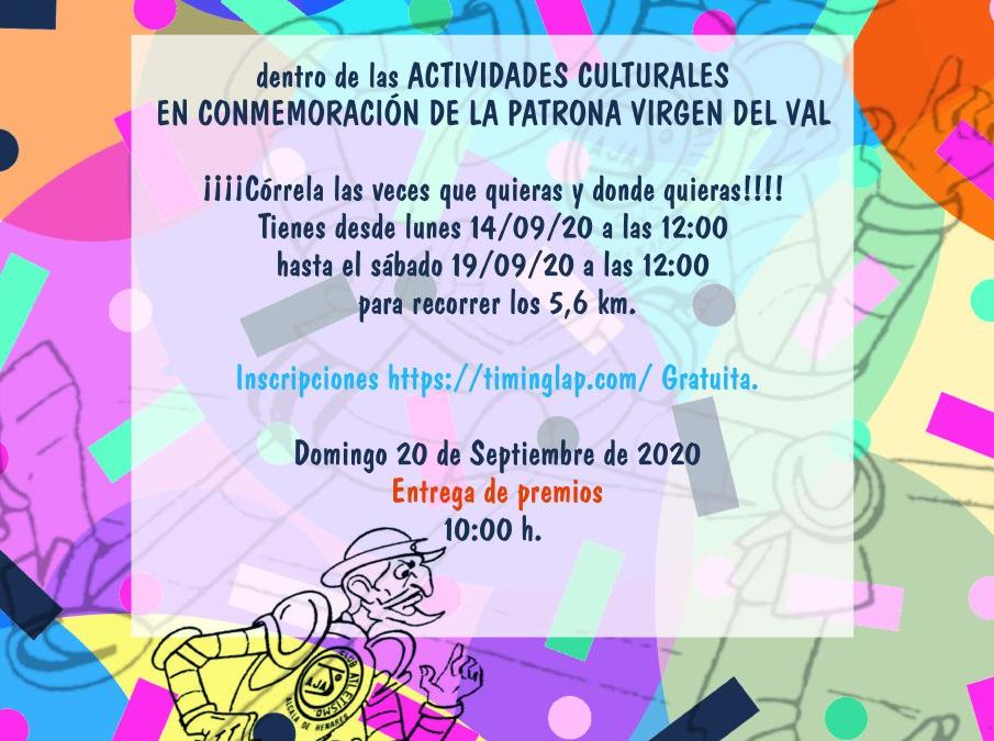 Alcalá se prepara para conmemorar a la Virgen del Val con actos marcados por las medidas de seguridad y la XIX Legua Popular on line